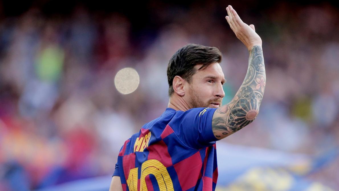 Messi de retour à l'entraînement — Barça
