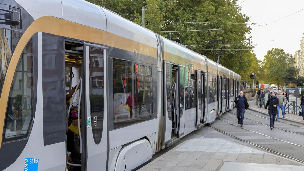Déraillement d'un tram à Schaerbeek: la circulation perturbée, pas de blessé