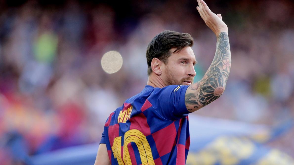 Beckham rêve de Messi à Miami — Barça