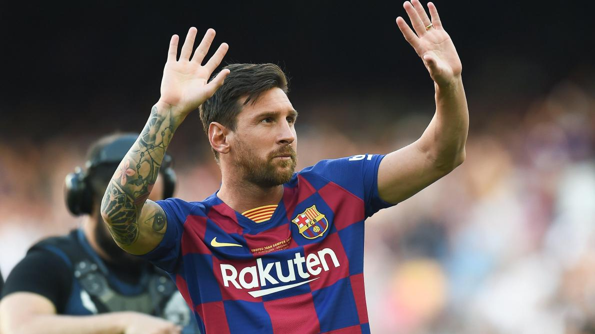 Barça: Lionel Messi de retour à l'entrainement collectif