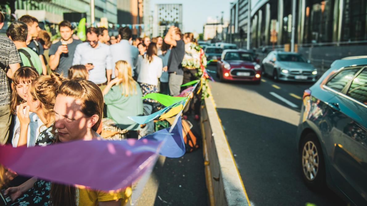 Afterwork sur la rue de la Loi: «Il faut recréer de l'espace humain», estime Alain Maron (Ecolo)