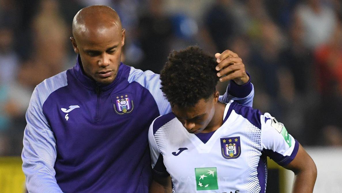 Anderlecht: la blessure de Kompany remet tout en question