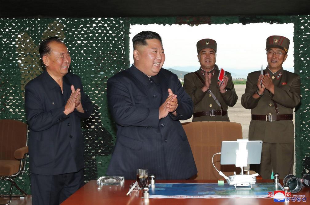 Corée du Nord- Pyongyang effectue de nouveaux tirs de missiles