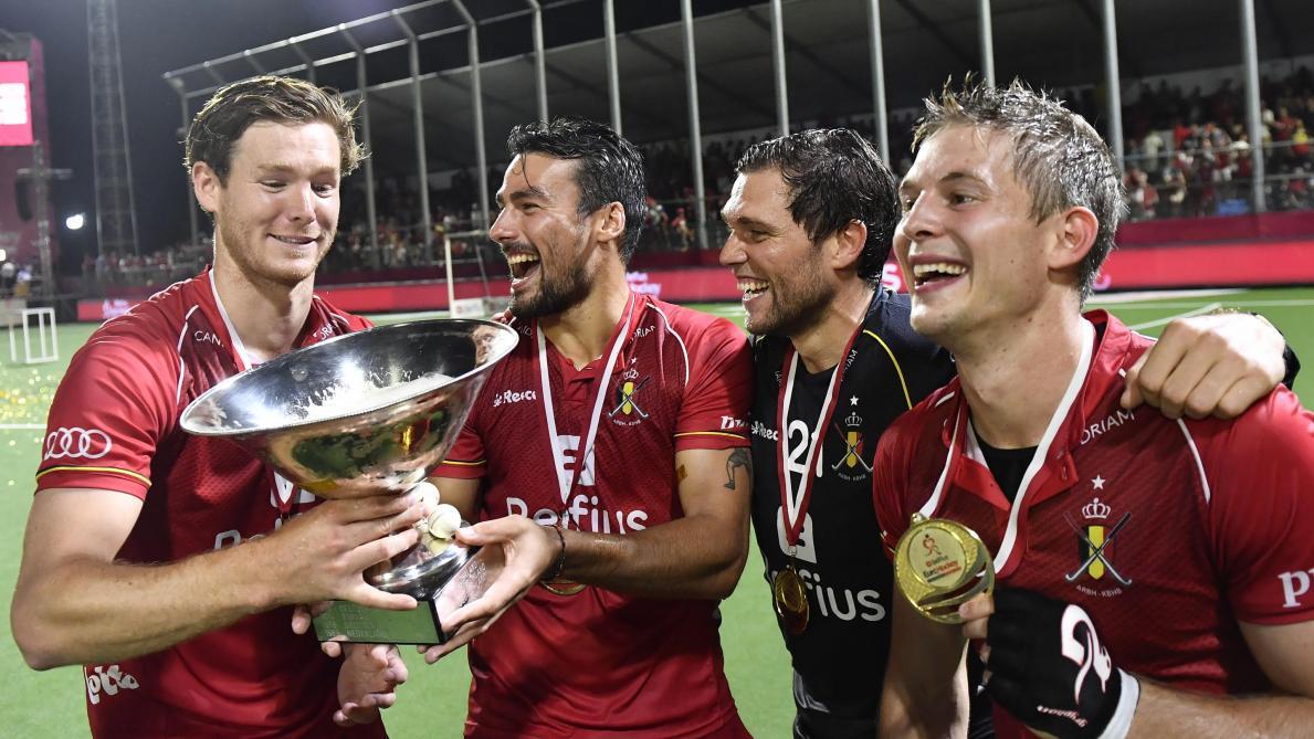Euro de hockey: pour Gauthier Boccard, les Red Lions sont «désormais attendus partout»