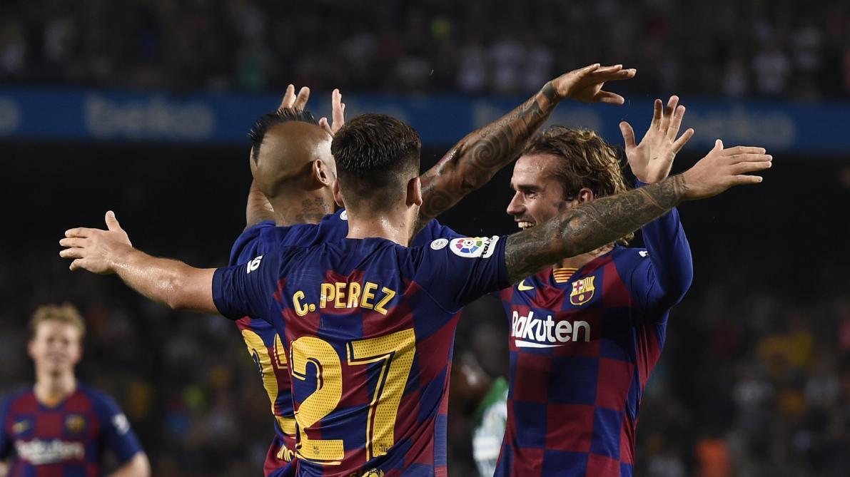 Le Barça cartonne le Betis, doublé de Griezmann — Liga