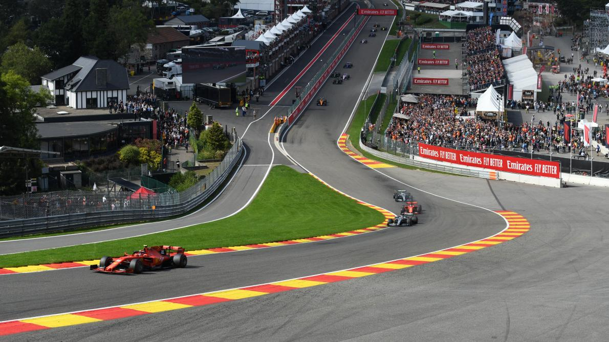 Steps at Spa-Francorchamps after Anthoine Hubert's death