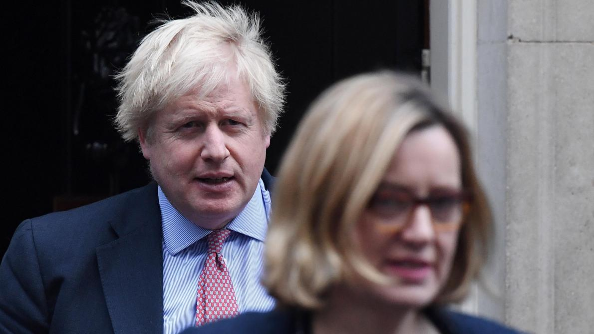 Boris Johnson et Amber Rudd