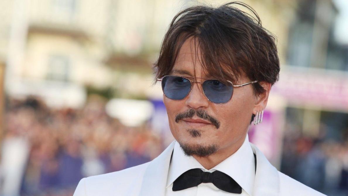Johnny Depp a fait sensation à Deauville