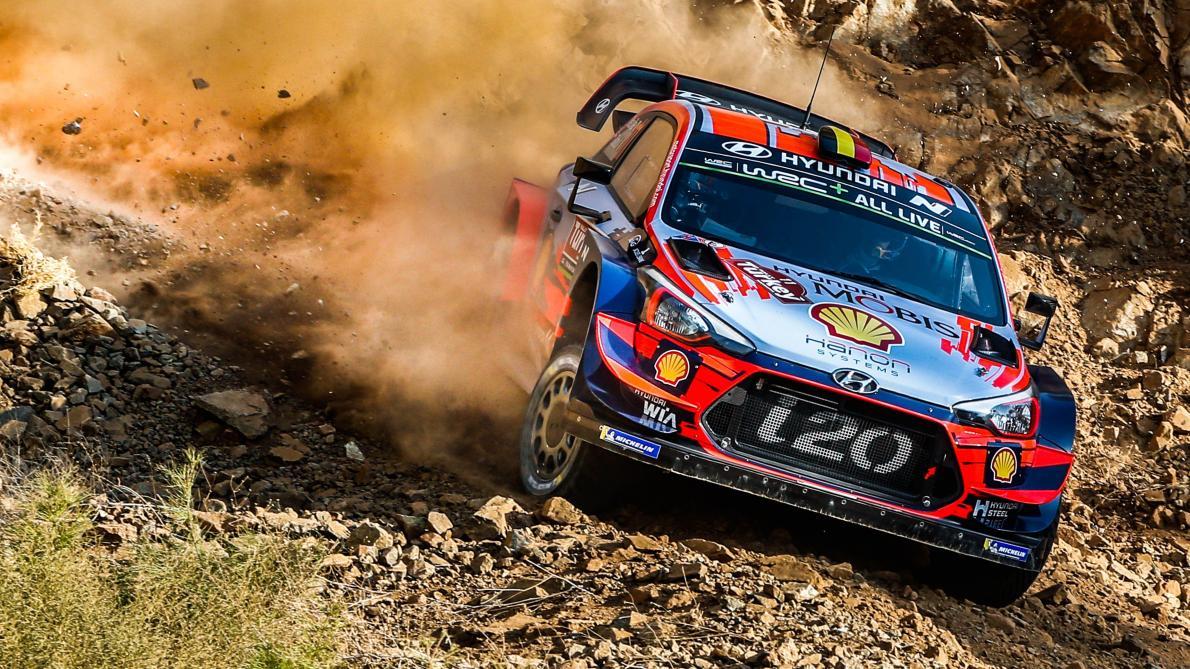 Rallye de Turquie: Thierry Neuville entame sa remontée