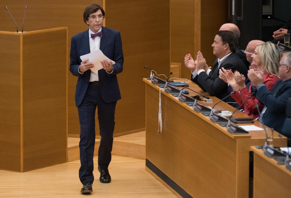 Elio Di Rupo appelle la Flandre à investir en Wallonie et à y créer de l'emploi