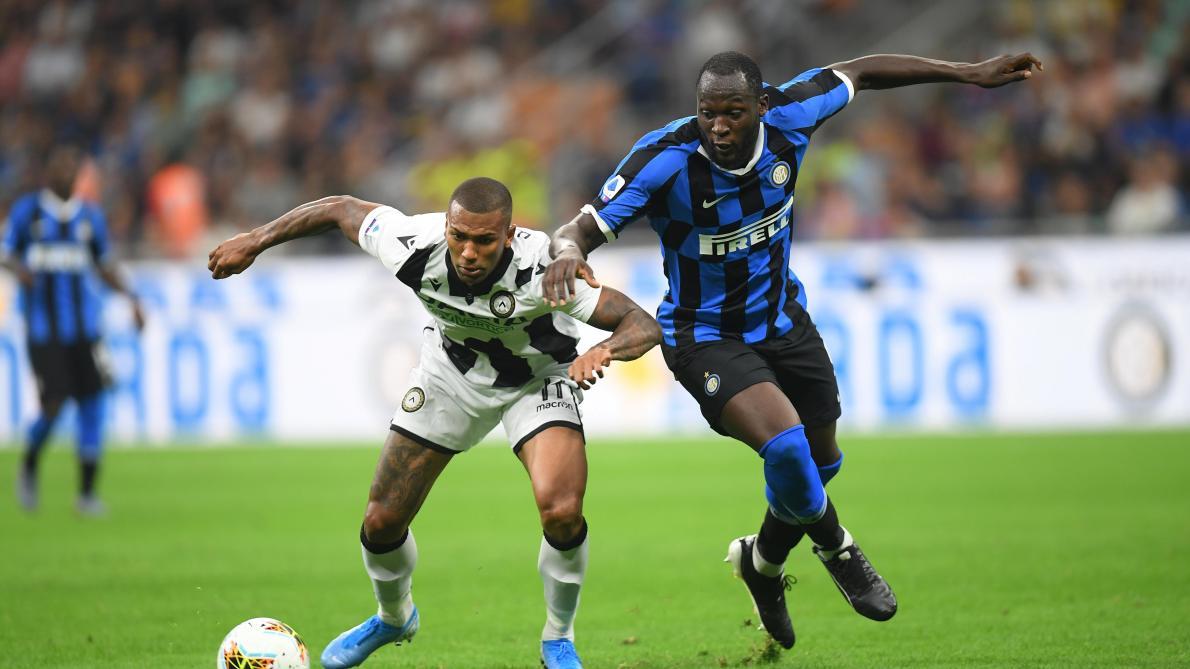 L'Inter Milan, avec Lukaku, s'impose face à l'Udinese (1-0, vidéo)