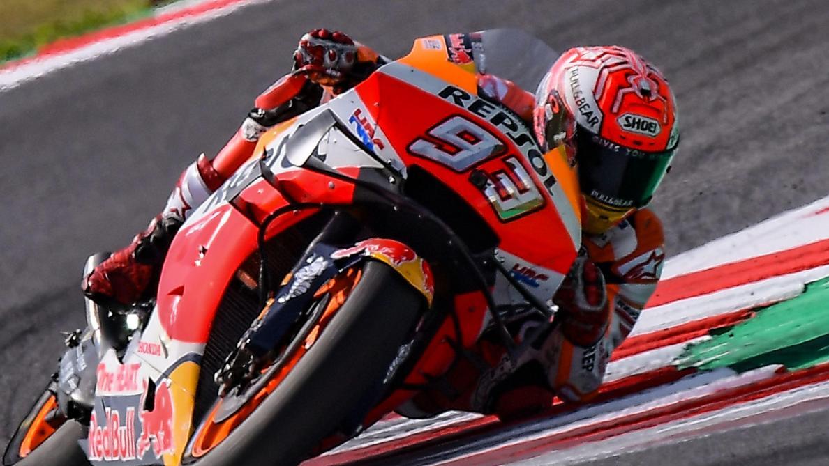 MotoGP: Marc Marquez remporte le Grand Prix de Saint-Marin devant Fabio Quartararo