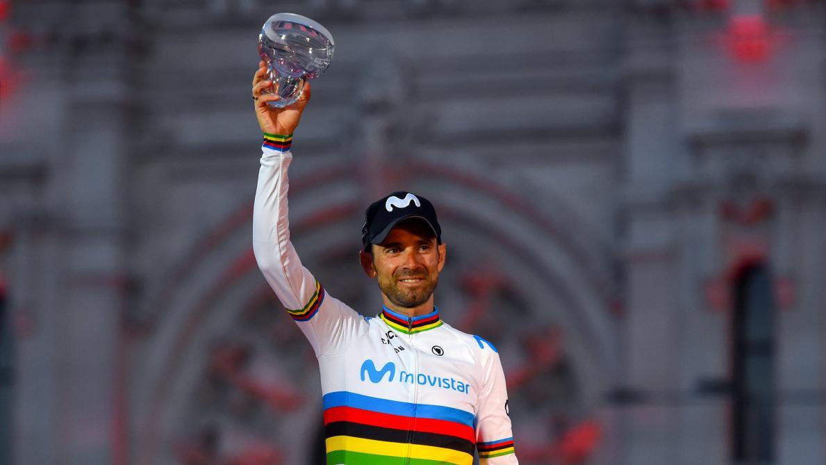 Alejandro Valverde après son deuxième podium au Tour d'Espagne: «C'est quelque chose de génial»