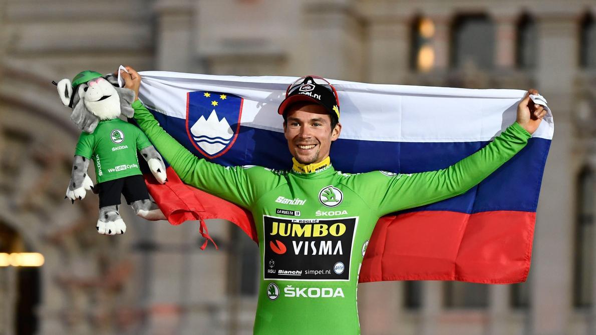 Tour d'Espagne: Roglic et Pogacar, triomphante Slovénie