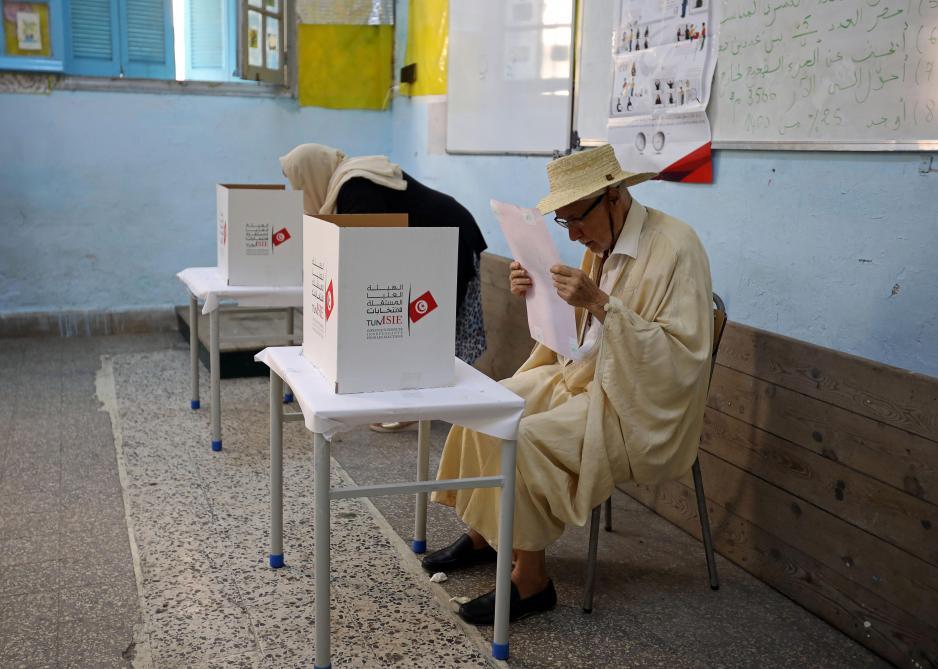 Présidentielle en Tunisie: participation de 45% au premier tour