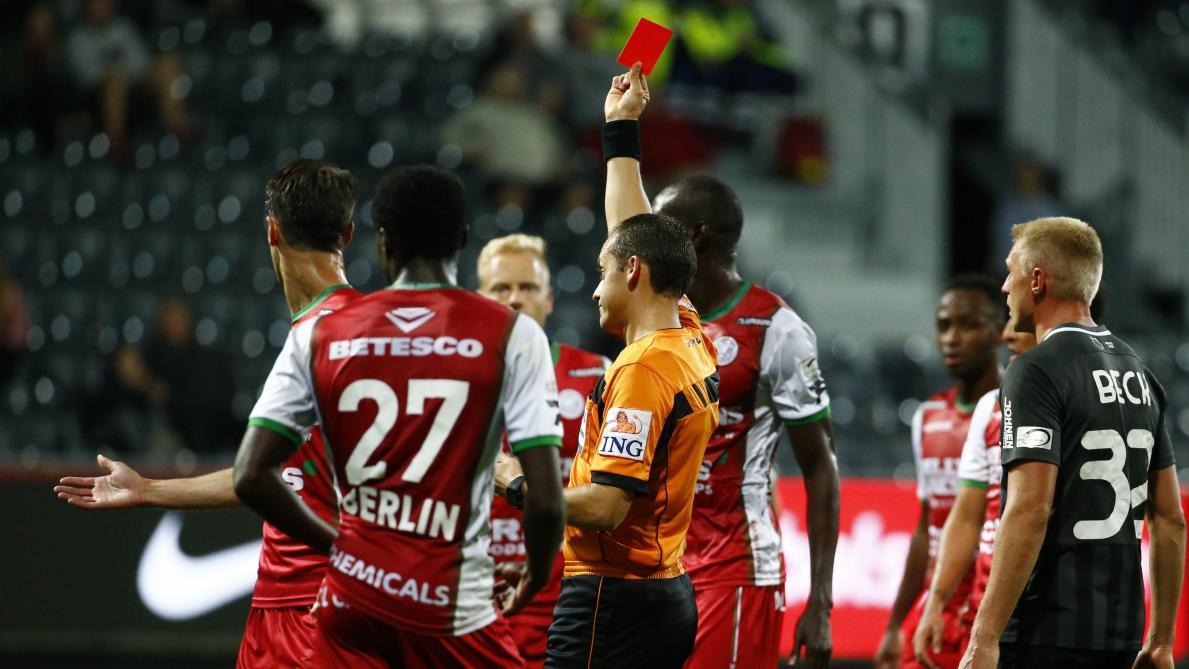 D1A: un match de suspension requis contre le défenseur de Zulte Waregem Ewoud Pletinckx