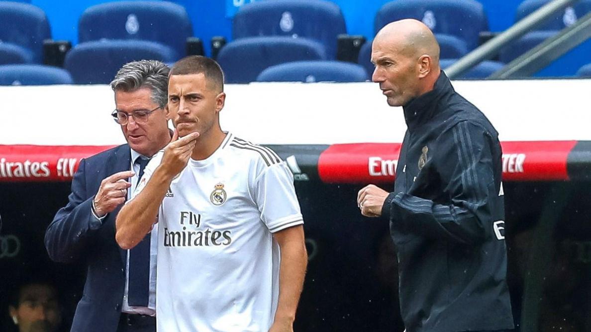 Zidane, la raison principale de la venue d'Eden Hazard au Real Madrid: «Le voir jouer là, pour moi c'était 'le' club» (vidéo)