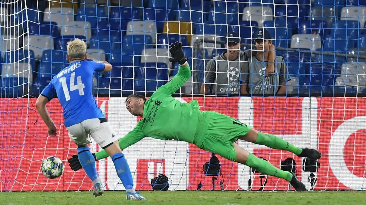 Dries Mertens et Naples n'ont pas tremblé — Ligue des champions