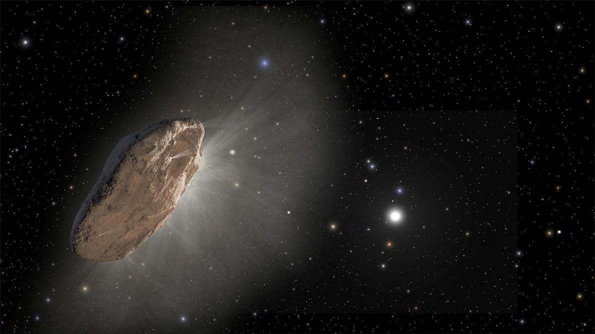 Découverte d'une étrange comète interstellaire en approche de notre système solaire (vidéo)