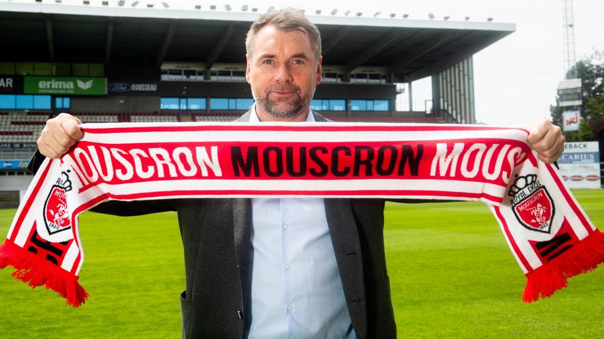 La discipline de Bernd Hollerbach fait des merveilles à Mouscron: «J'ai contacté Marc Wilmots pendant le mercato»