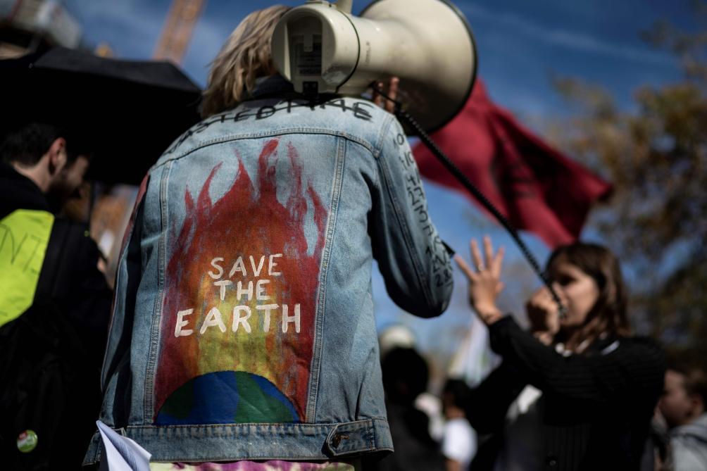 Grève mondiale pour le climat: e 15.000 personnes dans les rues de Bruxelles (photos)