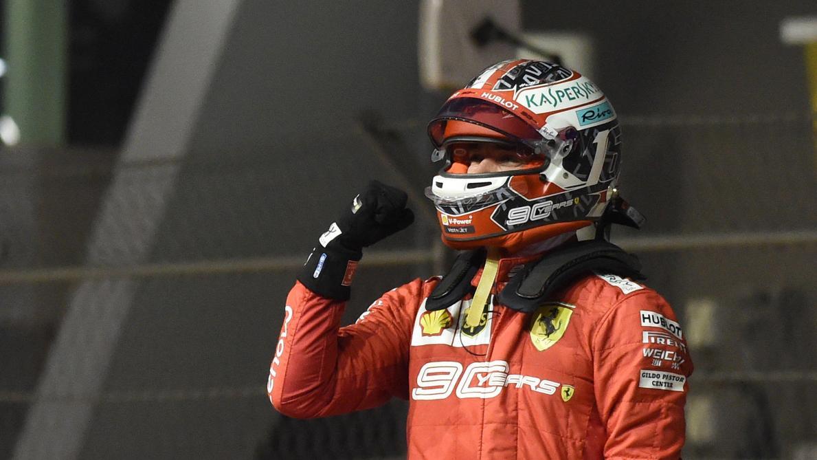Formule 1: Charles Leclerc décroche à Singapour une troisième pole consécutive