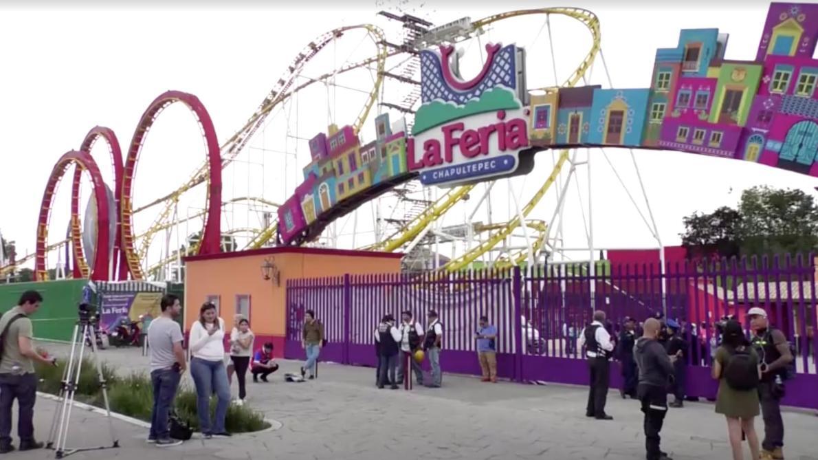 Deux morts dans un accident de montagnes russes — Mexique