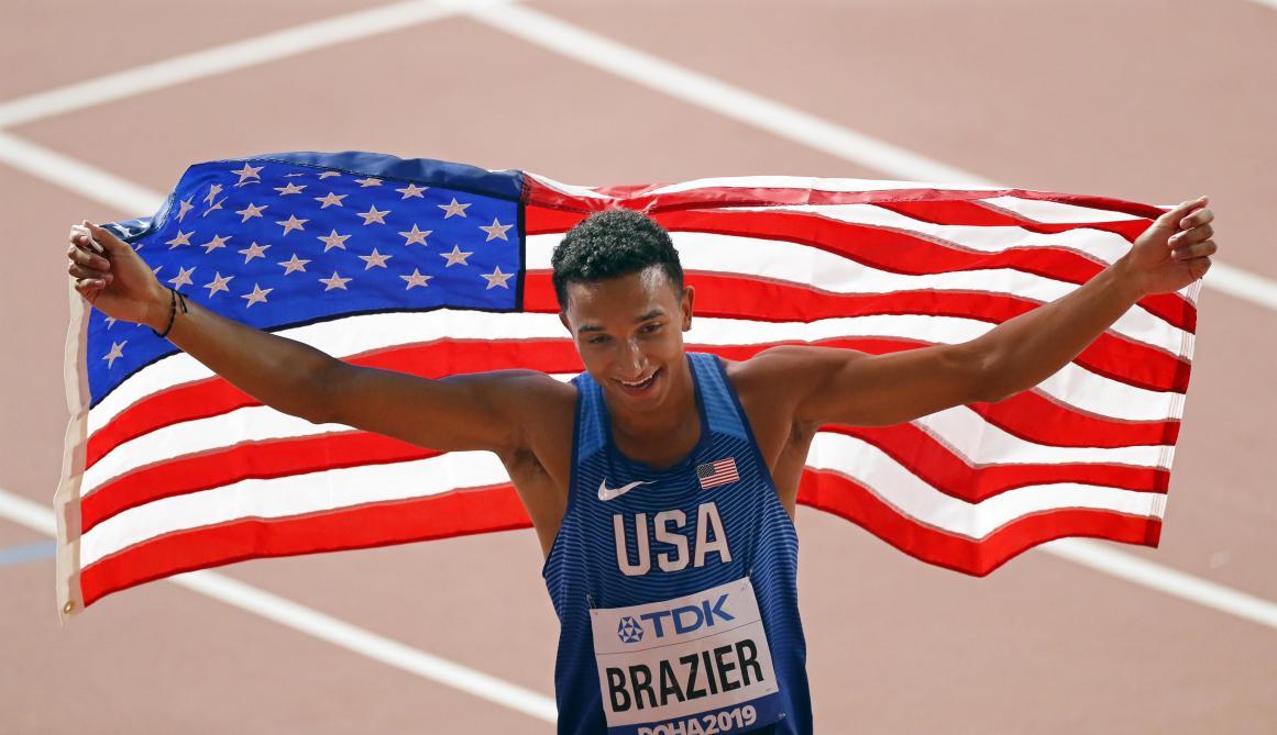 Mondiaux d'athlétisme: l'Américain Brazier champion du monde sur 800m