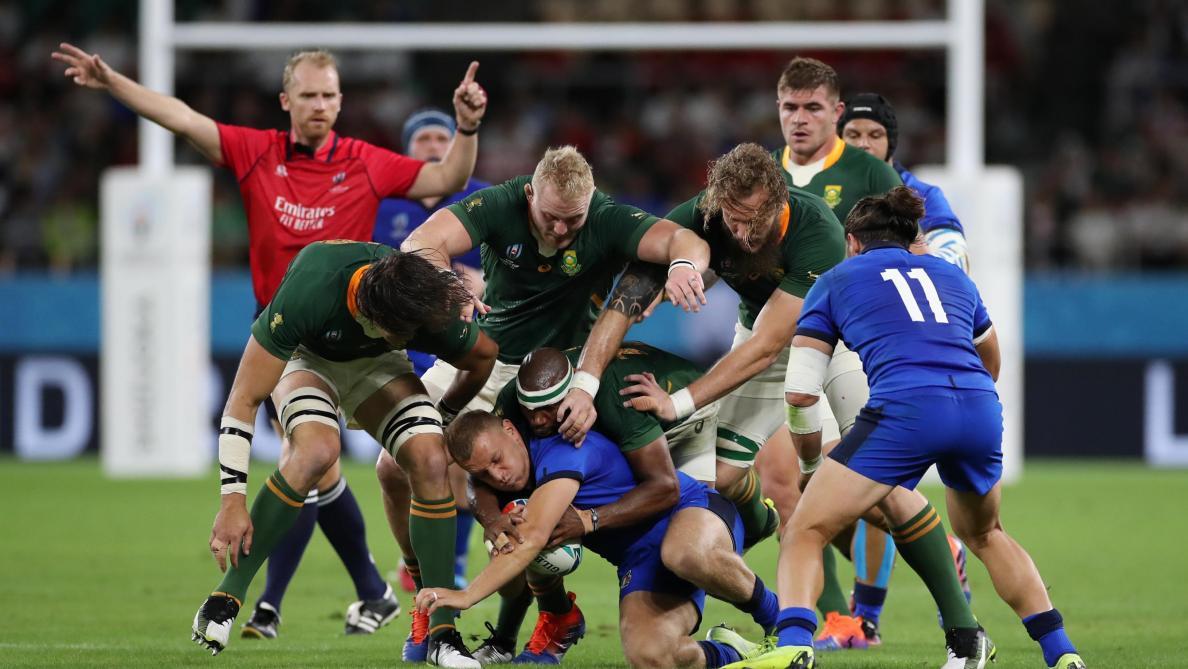 Afrique du Sud-Italie : 49-3. Les Springboks foncent vers les quarts