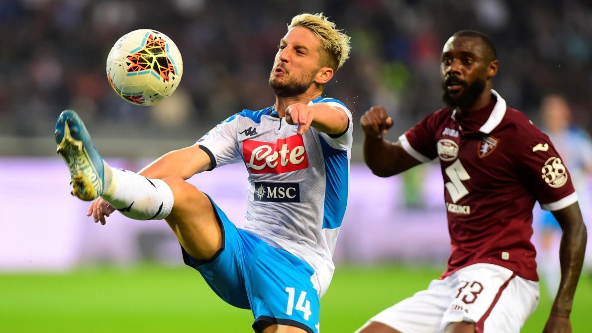 Serie A: après Genk, Naples et Dries Mertens font encore match nul à Torino (0-0)