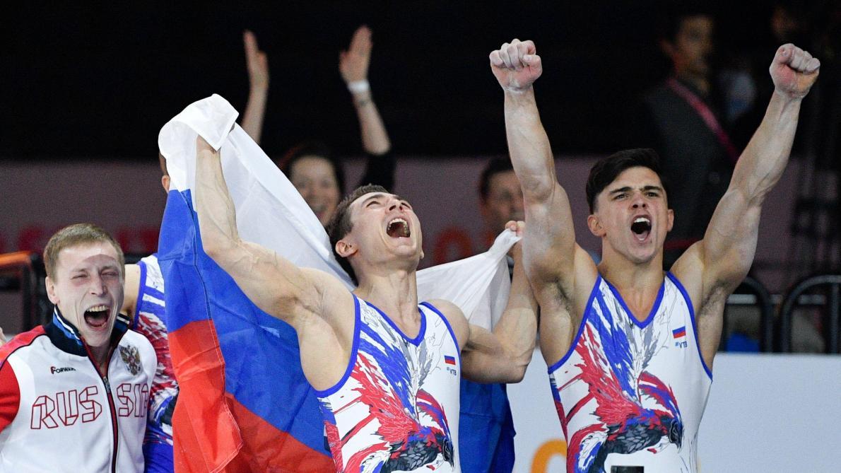 Mondiaux de gymnastique: la Russie championne du monde chez les messieurs devant la Chine