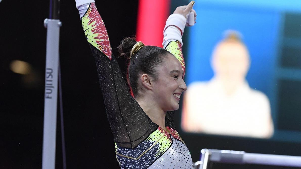 Mondiaux de gymnastique: Nina Derwael va faire l'impasse sur la finale au sol