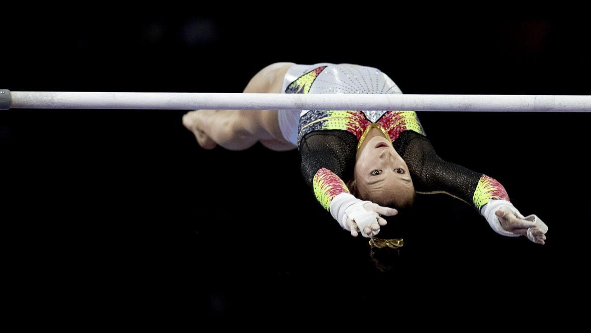 Nina Derwael, médaillée d'or à Stuttgart, sur une orbite olympique