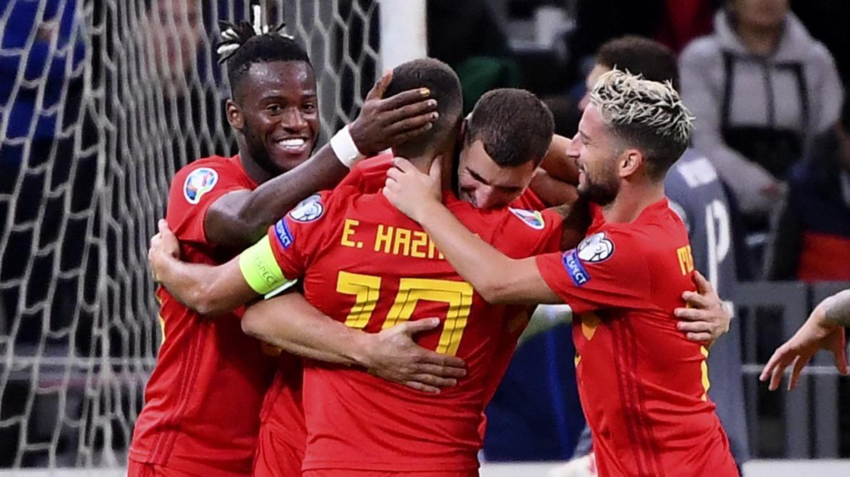 Michy Batshuayi buteur au Kazakhstan avec la Belgique (0-2): «On se doit de faire des résultats avec notre génération dorée» (vidéos)