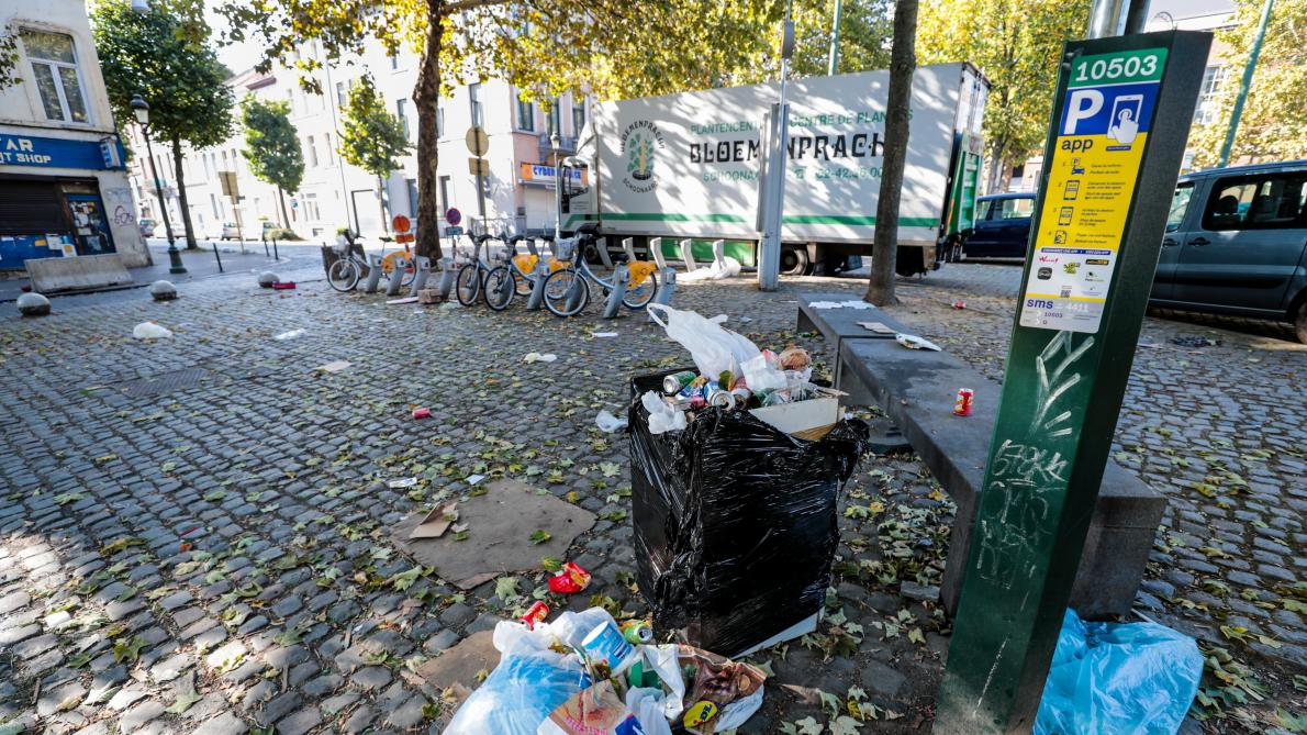 David Weytsman (MR): «La propreté se dégrade dans une série de quartiers de Bruxelles»