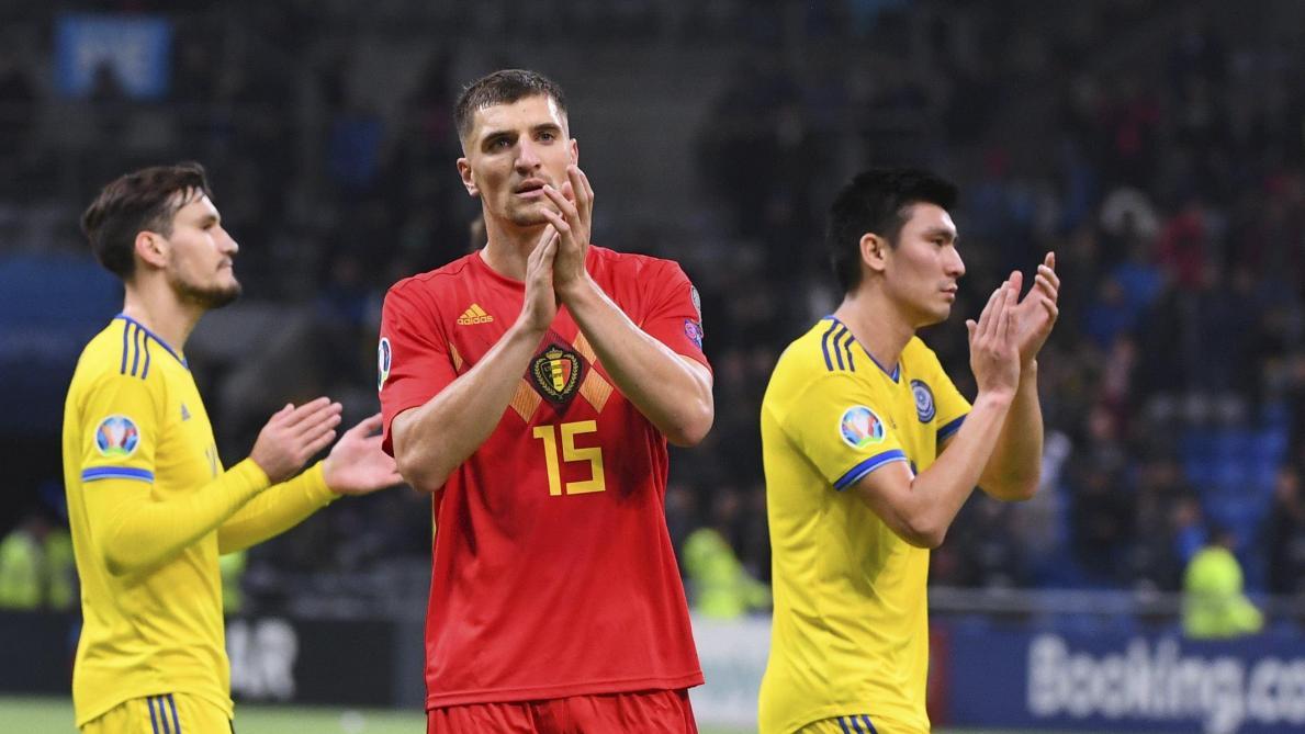 Thomas Meunier après Kazakhstan-Belgique (0-2): «Tout le monde est fracassé dans le vestiaire» (vidéos)