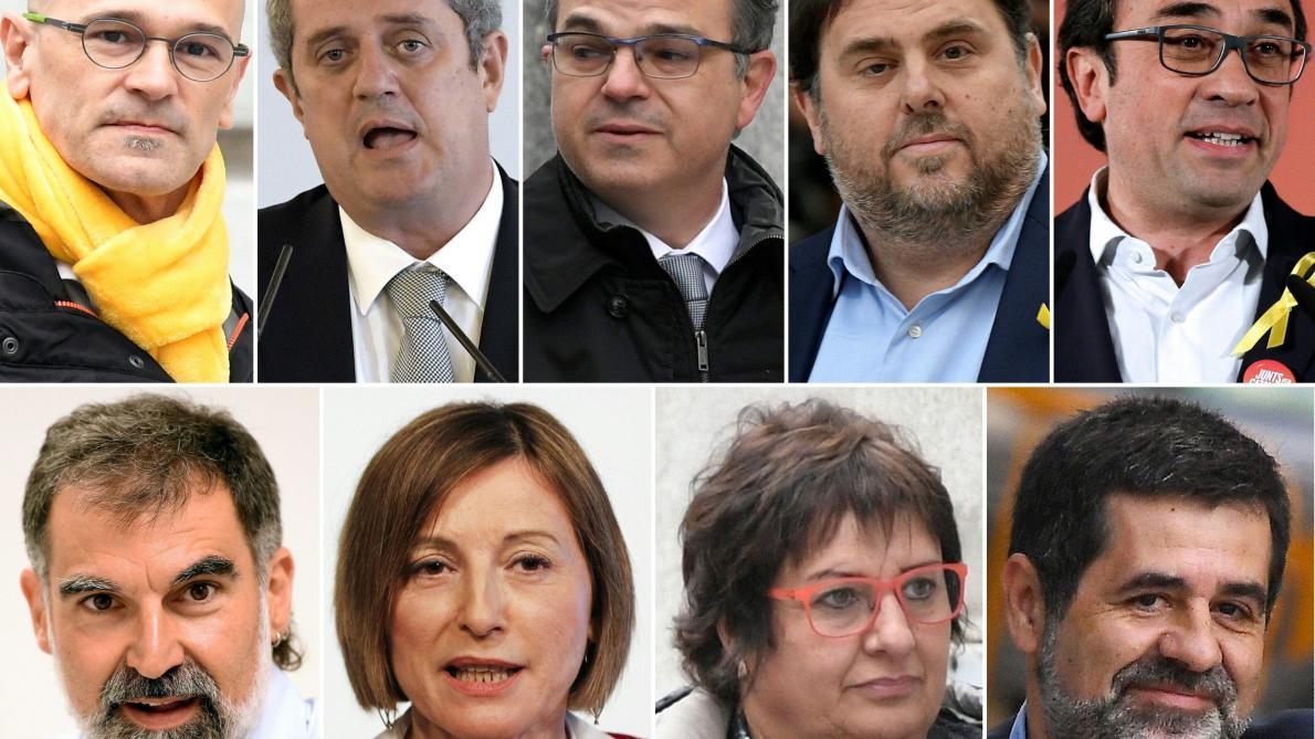 Espagne : jusqu'à 13 ans de prison contre les dirigeants catalans