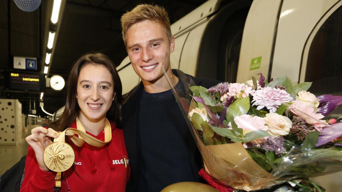 Mondiaux de gymnastique: Nina Derwael de retour en Belgique après «une semaine intense mais agréable»