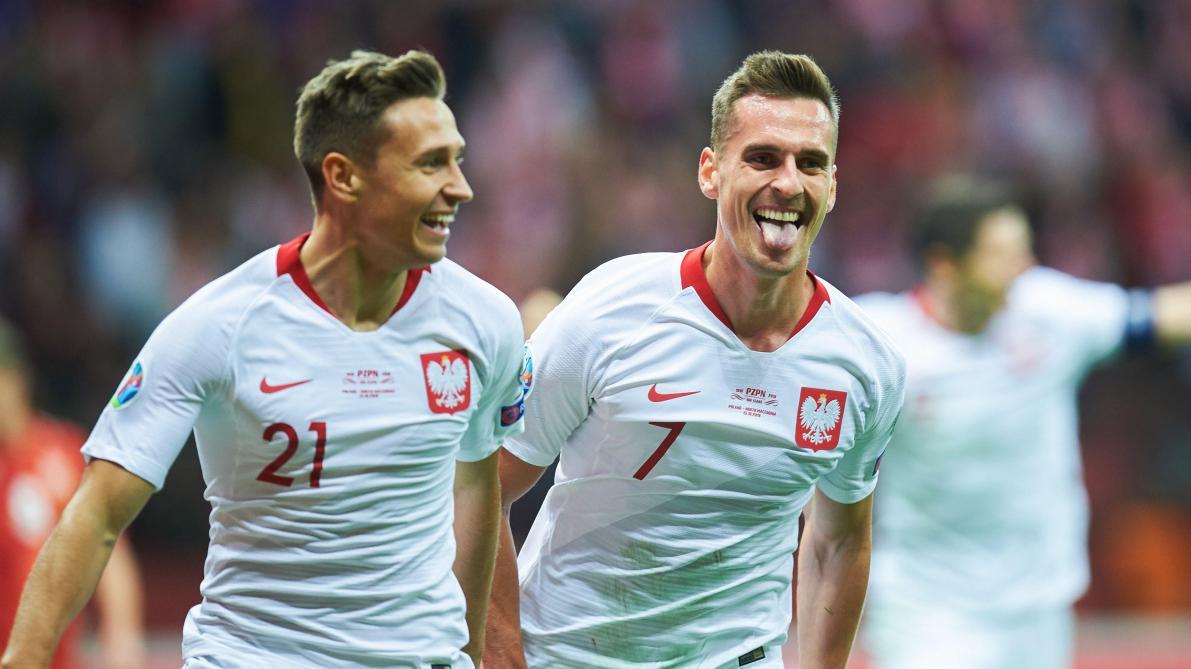 La Pologne qualifiée pour l'Euro 2020: elle rejoint la Belgique, l'Italie et la Russie