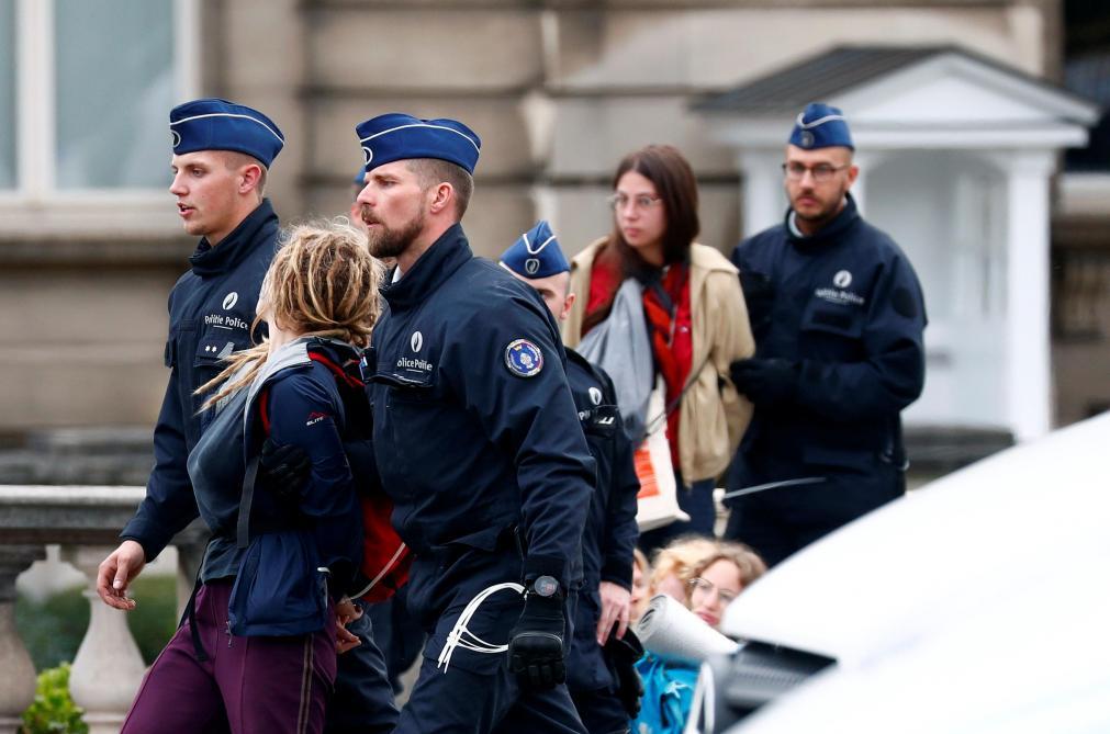 Extinction Rebellion à Bruxelles: Ecolo dénonce des «images désastreuses pour l'image de la police»