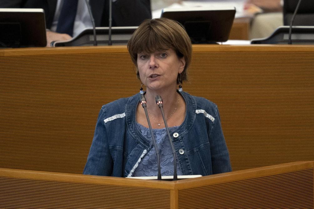 Nethys: Valérie De Bue dément avoir été mise au courant des ventes de Voo, Win et Elicio