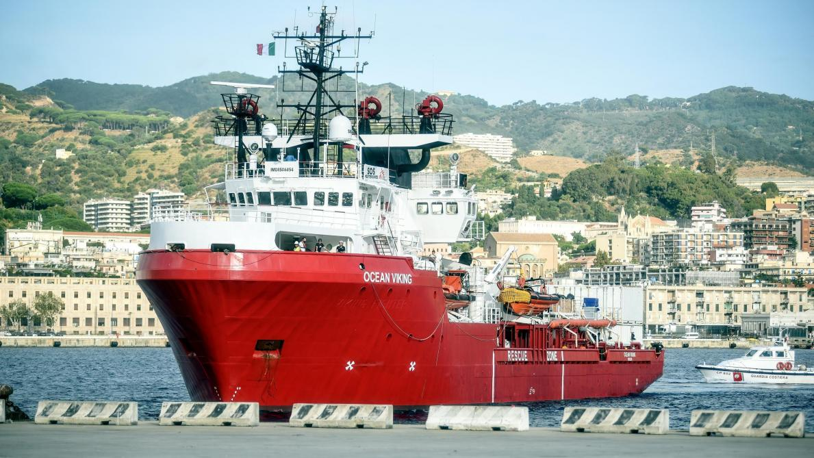 Méditerranée: l'Italie autorise le débarquement des 176 migrants à bord de l'Ocean Viking