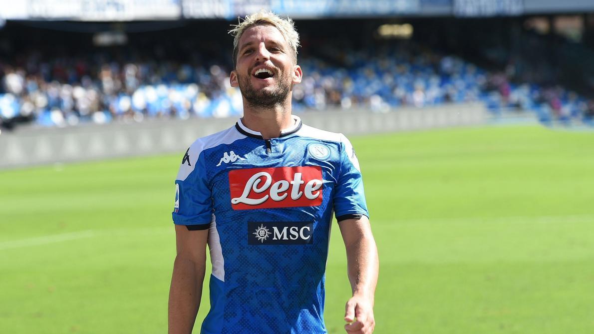 Serie A: Naples travaille sur une prolongation de contrat pour Dries Mertens