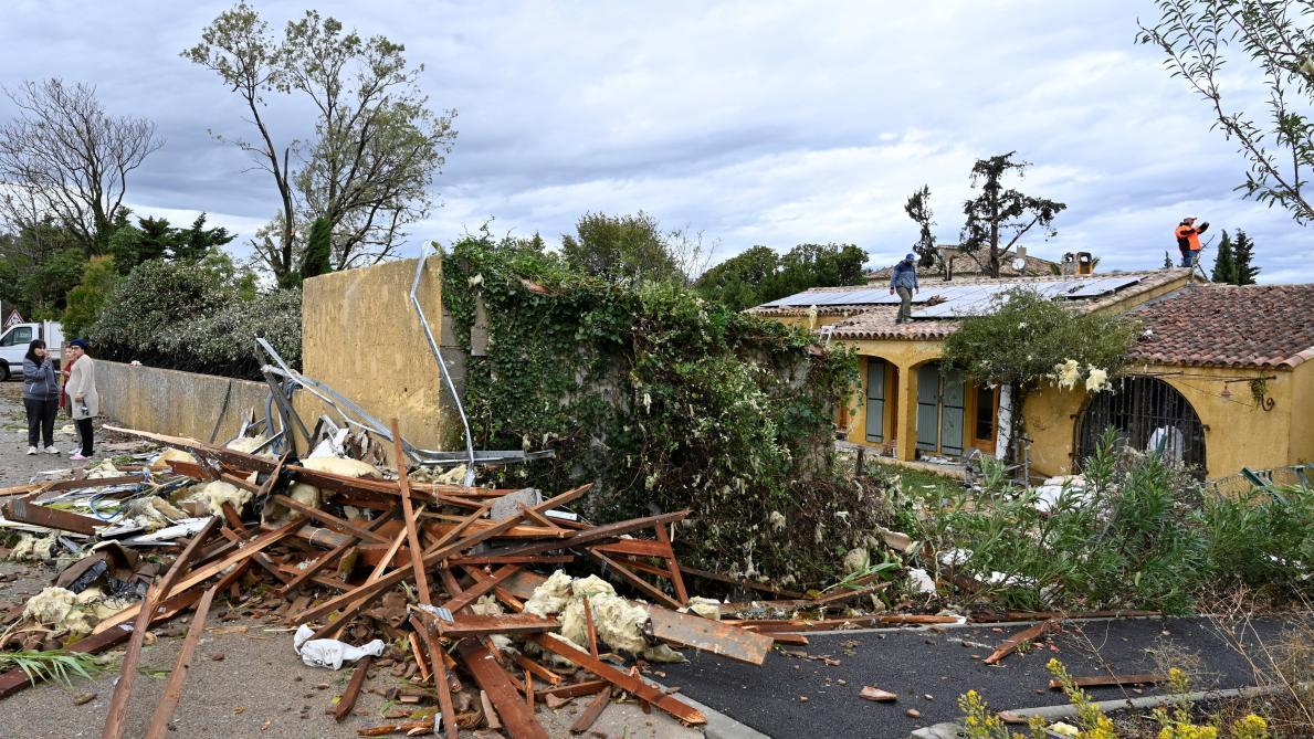 France: une tornade frappe 150 maisons, plus de 60 personnes évacuées (photos et vidéo)