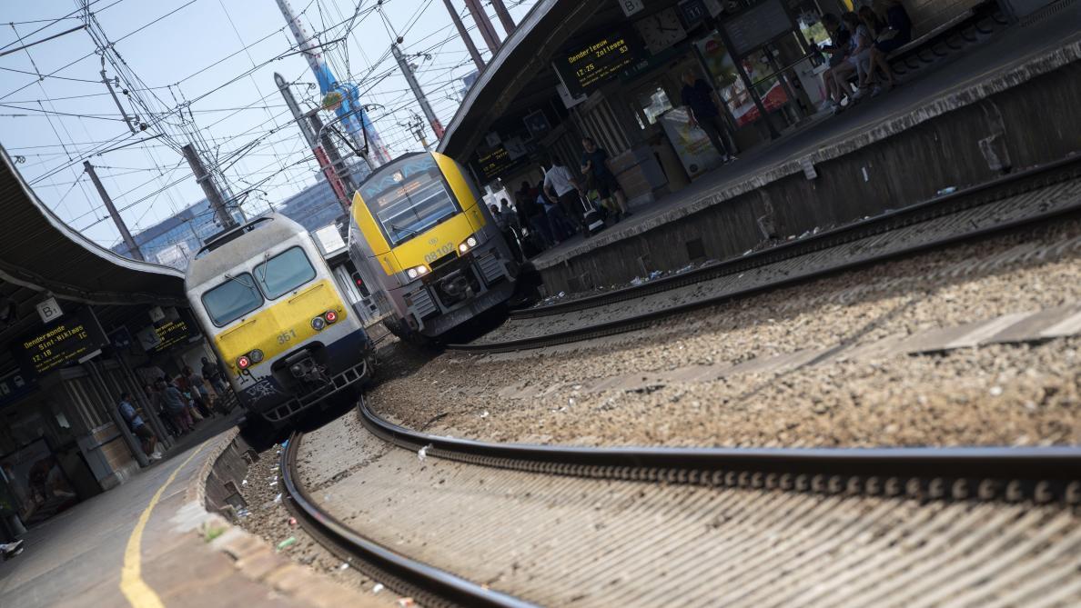 Trafic ferroviaire perturbé à Bruxelles: Infrabel explique l'origine du problème