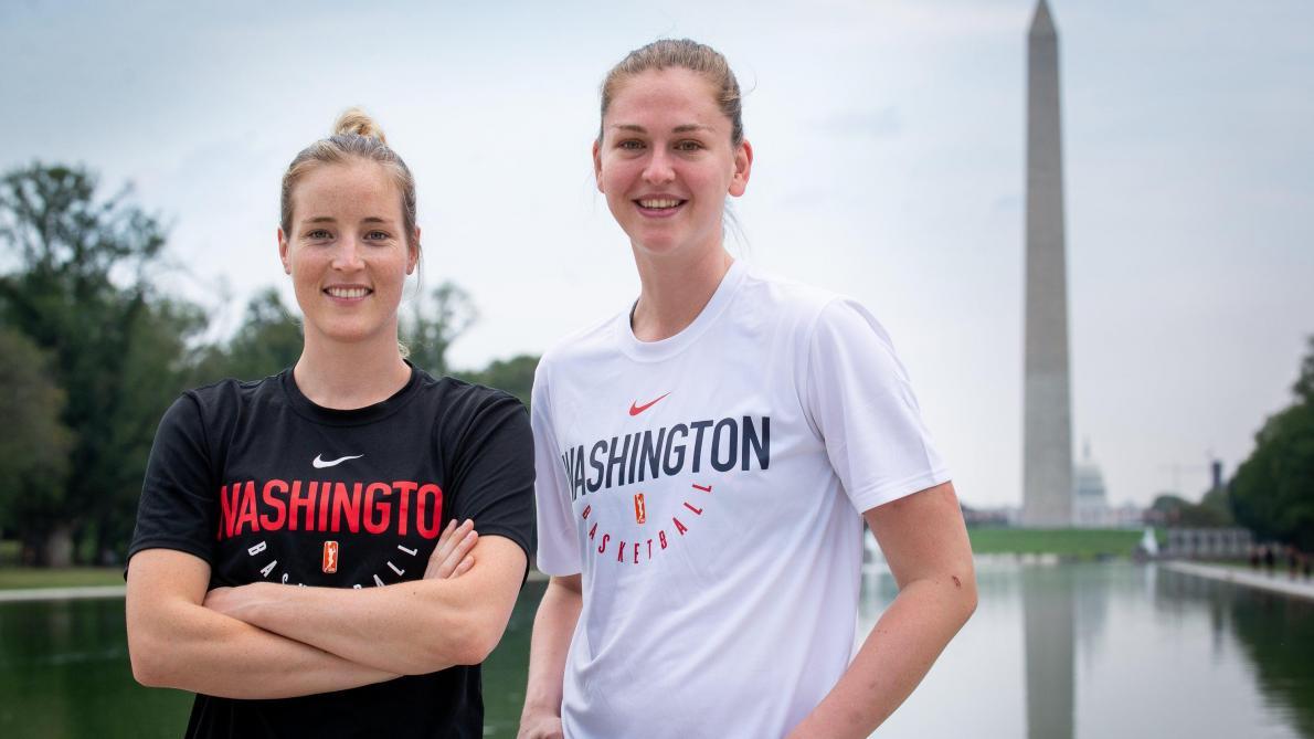 Basket: Emma Meesseman et Kim Mestdagh honorées à Ypres après leur titre WNBA