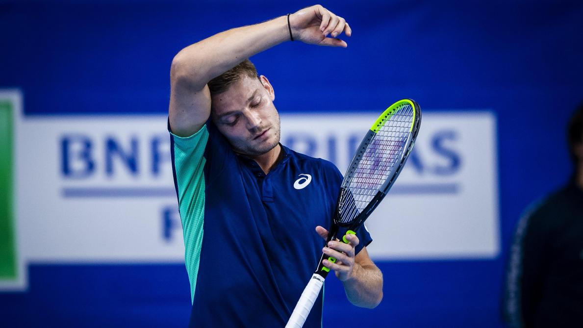 European Open: David Goffin s'incline dès son entrée en lice contre le Français Ugo Humbert (6-3, 6-1)