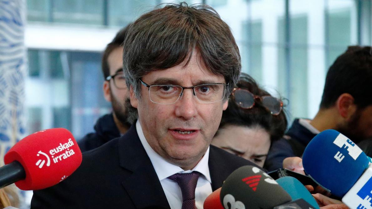Belgique : l'ex-président catalan Carles Puigdemont laissé libre sous conditions