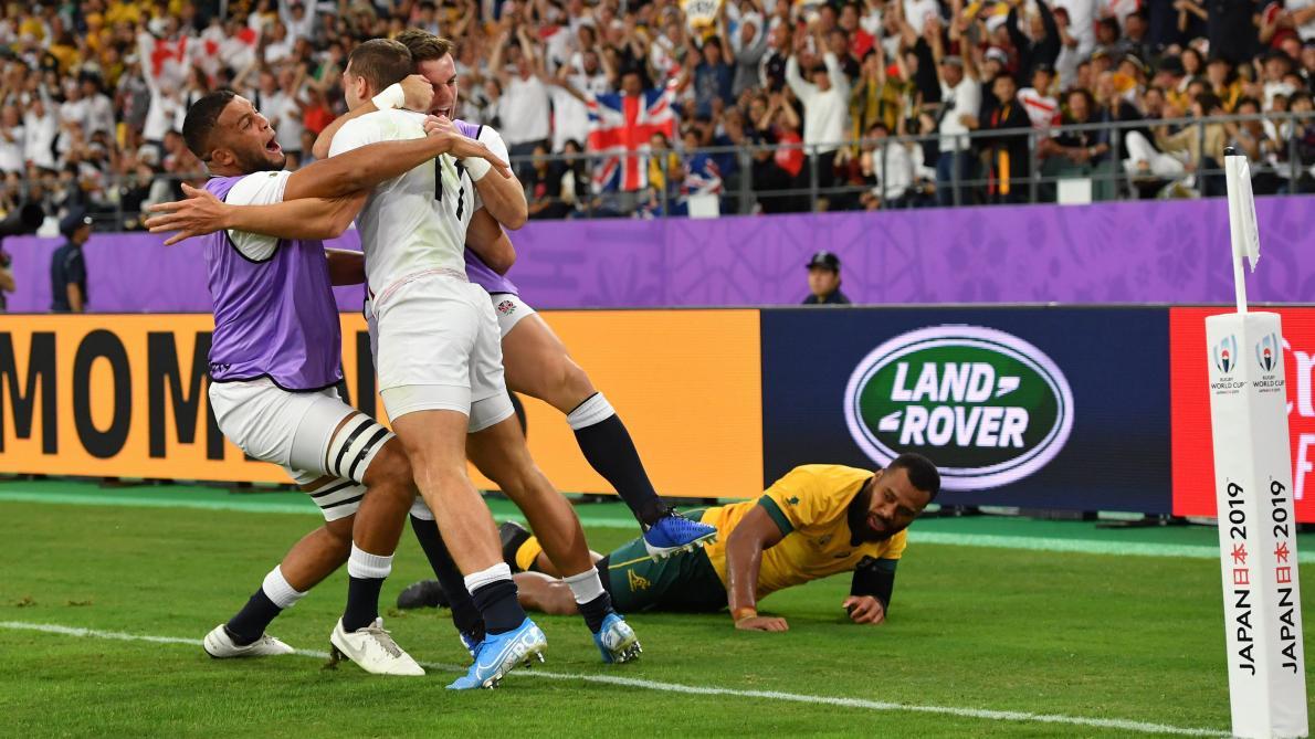 L'Angleterre donne une leçon à l'Australie — Rugby