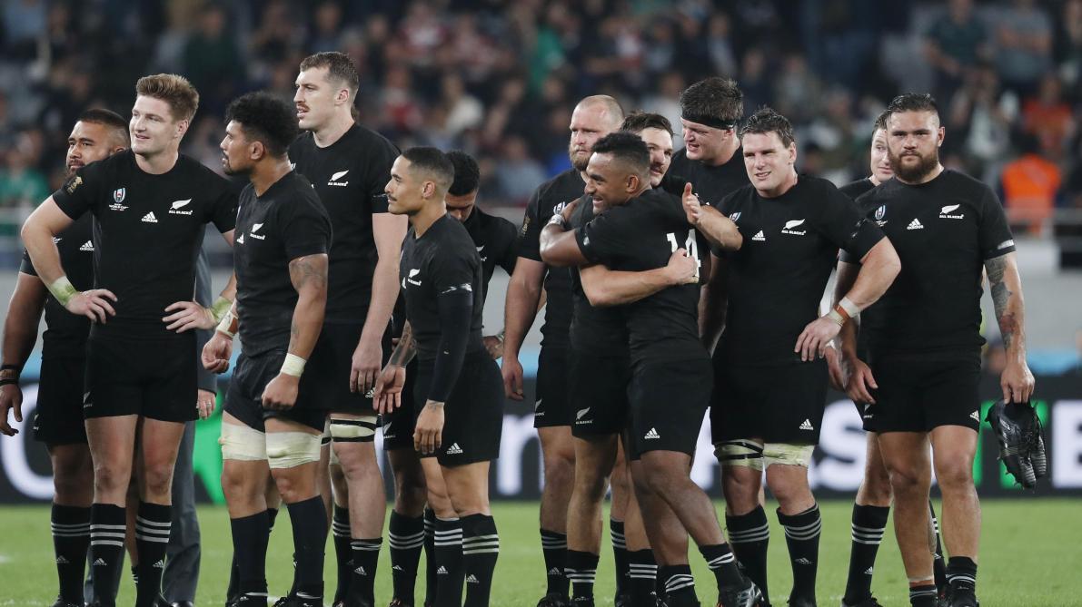 La Nouvelle-Zélande s'impose largement contre l'Irlande et se qualifie pour les demi-finales de la Coupe du monde de rugby